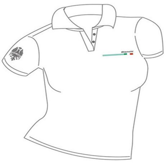 Picture of Bianchi Polo Woman Withe